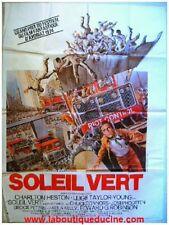 SOLEIL VERT Affiche Cinéma, Poster CHARLTON HESTON 1973