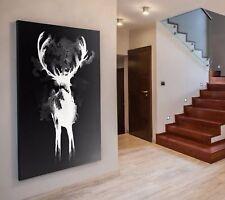 XL LEINWAND BILD 100x100x5 3D GESTEIN-DESIGN WANDBILD MODERN ART GRAU WEIß IKEA