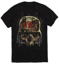 Official Slayer - Skull Collage - Men's Black T-Shirt US IMPORT