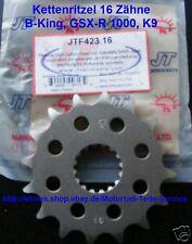 Pignone Suzuki Hayabusa GSX 1300 R K8 L6 16 Denti 08 GSX R 1000, JTF 423-16