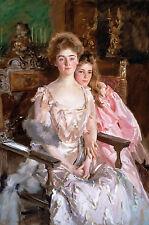 John Singer Sargent - Mrs. Fiske Warren Gretchen Osgood, Museum Art Canvas Print