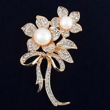 Enamel Crystal Butterfly Dragonfly Animal Brooch Pin Womens Costume Jewellery
