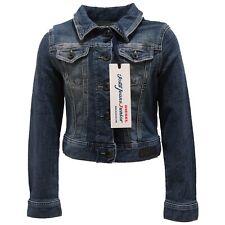 0837T giubbotto jeans bimba DIESEL blu denim jacket kid