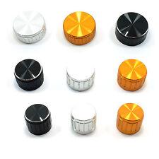 Perilla De Aluminio 6mm Para Tapa potenciómetro Diámetro: 14mm, 20mm, 25mm, 29mm, 39mm