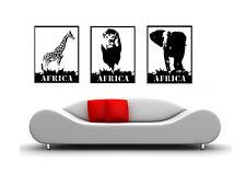 WandTattoo Afrika Tier  wandaufkleber waf11 wandfolien