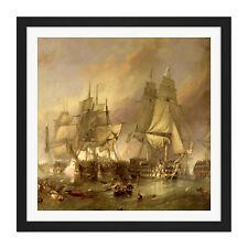 """/""""Battle of Trafalgar/"""" Giclee fine art  reproduction by Pierre de Wispelaere"""