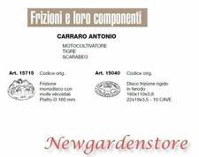 Embrague disco compatible CARRARO ANTONIO CULTIVADOR TIGRE SCARABEO