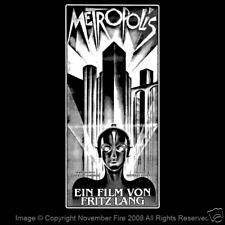 Metropolis Fritz Lang German Expressionist Robot Maria Motorhead Shirt NFT457