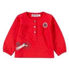 Camisa coral rojo talla 86 , 92 , 98 , 104 para chica VON Boboli