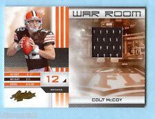 2010 ABSOLUTE WAR ROOM COLT McCOY ROOKIE JERSEY #/250