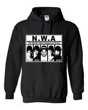NWA N.W.A.2 Straight Outta Compton Unisex  Hooded Sweatshirt Hoodie S-5XL  Hoody