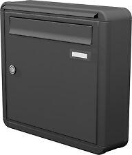 Briefkasten Aufputz 1 tlg. Briefkastenanlage Wandbriefkasten Farbauswahl APH101