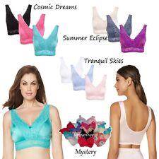 "$59 Rhonda Shear ""Pin-Up"" Lace Leisure Bra 3 Pack 472473J SUMMER SALE $16.25"