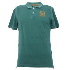 B3196 polo uomo FRED MELLO maglia manica corta verde t-shirt man