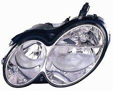 MERCEDES BENZ CLK  HEADLIGHT HEAD LIGHT FRONT LAMP LEFT DRIVER HALOGEN WARRANTY