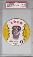 1976 MSA Isaly's & Sweet William Discs Joe Morgan PSA 8