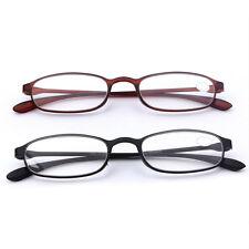 Flexible lunettes de lecture Reading Glasses +1.0 To +4.0 Black TR90 Lunettes X