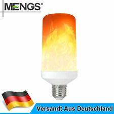 MENGS E27 6W LED Flammen Lampe Flammenfarbe 80lm AC 85-265V Für Home Dekoration