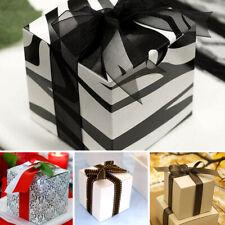 """100 pcs 3""""x3""""x3"""" Wedding FAVOR BOXES Party Baby Shower Decorations Wholesale"""