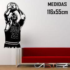 vinilo pared casa decorativo jordan basket baloncesto bulls 23 vinyl ENV. 24/48h