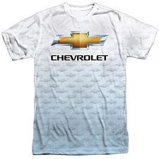 Authentic Chevrolet Chevy Logo Repeat Sublimation Front T-shirt S M L X 2X 3X