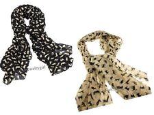 New Charm Fashion Cat Pattern Animal Print Shawl Scarf Wrap for Ladies Women