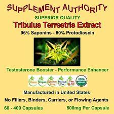 Tribulus Terrestris 96% Saponins - 80% Protodioscin 500mg Caps - LOWER PRICE!