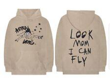 Travis Scott Astroworld Hoodie Look Mom I Can Fly Black or Khaki replica Sweater