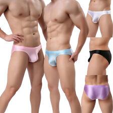 New Men's Low Rise G-string Breathable Underwear Pouch Briefs Bikini Underpants