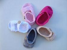 Crochet Sandals for Girls & Boys Various Colours & Sizes Available AUSSIE SELLER