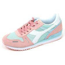 C9012 sneaker donna DIADORA TITAN II W scarpa rosa/azzurro shoe woman