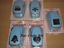 "Woodware Super Blue Punch 5cm 2"" Various Designs"