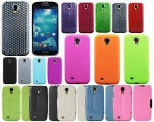 Funda Carcasa de Silicona Policarbonato TPU Cuero para Samsung Galaxy S4 i9500