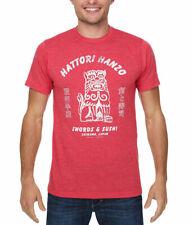 Kill Bill Hattori Hanzo Swords and Sushi T-Shirt
