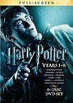 Harry Potter: Years 1-6 (DVD, 2009, 6-Disc Set, FULL-SCREEN) SEALED