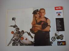 advertising Pubblicità  1988 MOTO APRILIA RED ROSE 125 cc