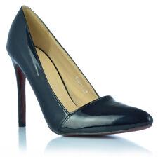 Zapatos señora tacón alto Stiletto pumps noche zapatos charol-Optik talla 36 - 40