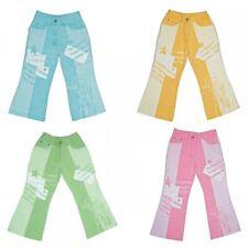 Fille pattes d'éléphant pantalon jeans enfants Longue Style Occidental