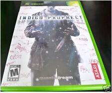 Indigo Prophecy (Xbox) Mint OBL & Complete!