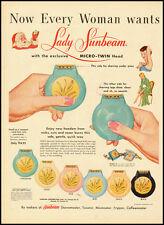 1955 vintage ad for Lady Sunbeam Razors  -031812