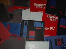 Bang And Olufsen B&O instrucciones & configuración Libros