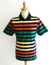 Roger Kent Herren Poloshirt gestreift schwarz gelb rot grün Gr. 48, 52 NEU!!!
