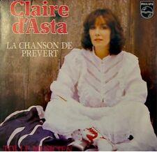 CLAIRE D'ASTA la chanson de prevert/toi le musicien SP+