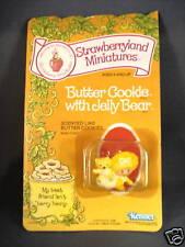 1982 Strawberryland Miniatures Butter Cookie
