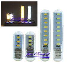 Portable Bright 5730 2W 6W 5V LED Night Light USB Lamp Bulb for PC Laptop Read