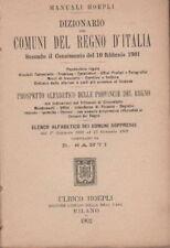 COMUNI DI ITALIA_CENSIMENTO 1901_FERROVIE_UFFICI_HOEPLI