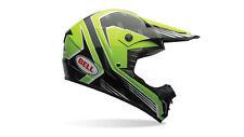 Bell Casque de Moto, Casque Bell SX-1 Race Vert Ultra-Léger
