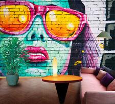 3D Graffiti Girl 367 Wall Paper Wall Print Decal Wall Deco Indoor AJ Wall Paper