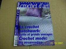 crochet d'art  293  TBE