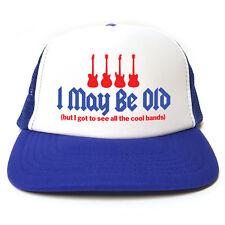 Potrei essere vecchio ma ho avuto modo di vedere tutte le bande Cool Cappello-Divertente Retrò Camionista Cap